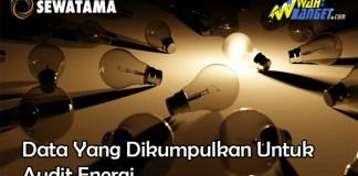 Data Yang Dikumpulkan Untuk Audit Energi