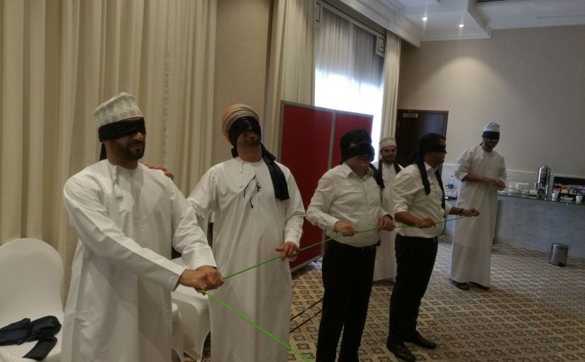 Team Building Workshops, Part 2, SGRF, Oman