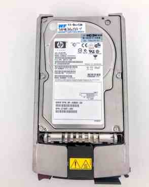 HP 72.8 GB ULTRA320 SCSI 10K RPM HARD DRIVE (289042-001)
