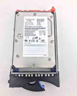IBM 73.4GB 15K RPM 3.5″ 2GB FIBRE CHANNEL HARD DRIVE (32P0769)