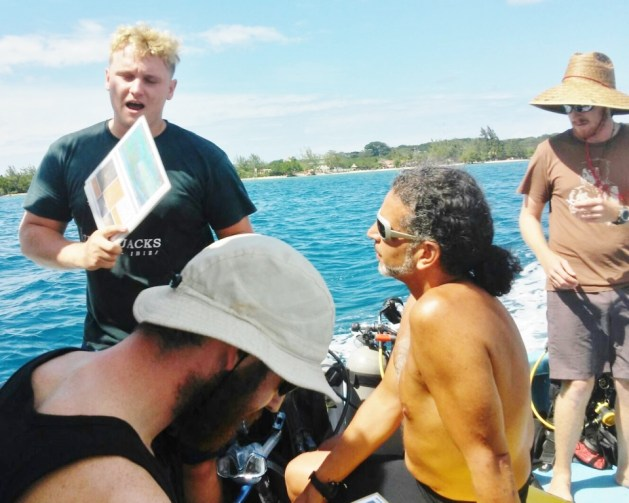 learning from a Divemaster