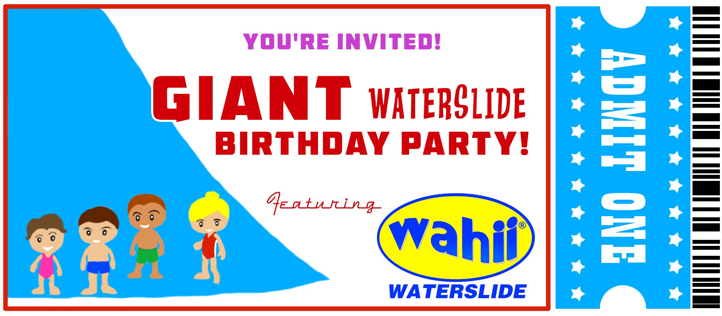 the wahii waterslide backyard water slide wordpress com