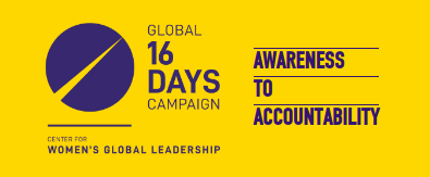 16 days - from awareness to accountability