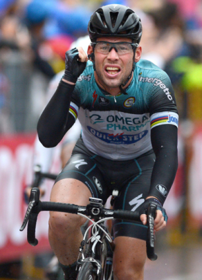 as seen on Mark Cavendish