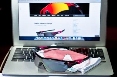 SGD$390 RADARLOCK™ EDGE SKU# OO9183-07 Color: Polished Black/Black Iridium & VR28