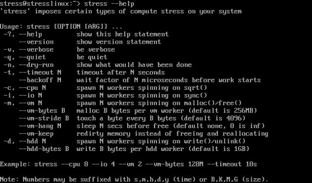stresslinux-help