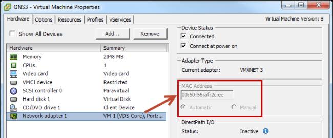 vm-mac-address