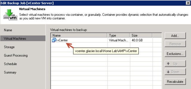 veeam-vc-backup-job
