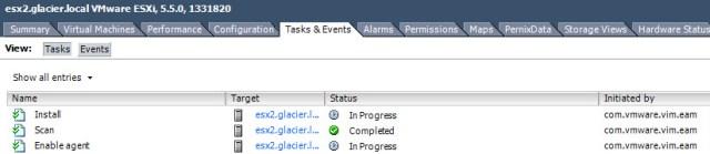 Various NSX related installation tasks