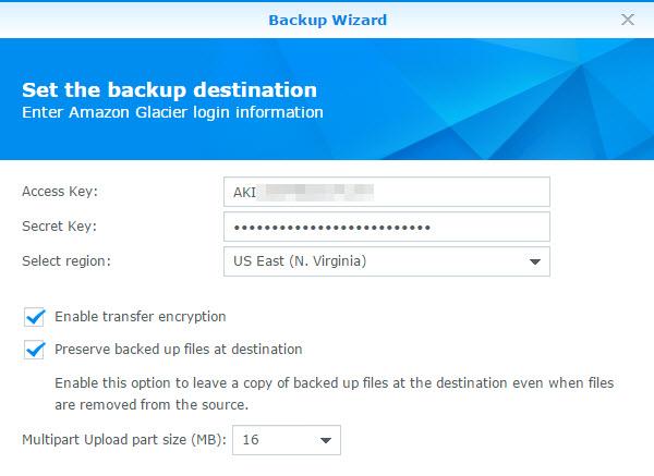 Keys, Encryption, and Upload Sizes