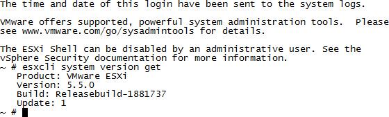 SSH Into an ESXi Host