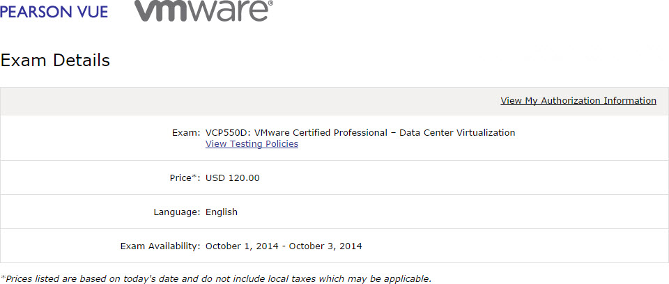 VMware Offers Delta Exam for VCP-DCV Recertification
