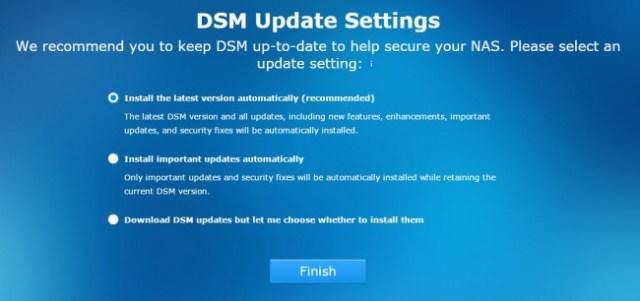 DSM 5.1 Intro Screen