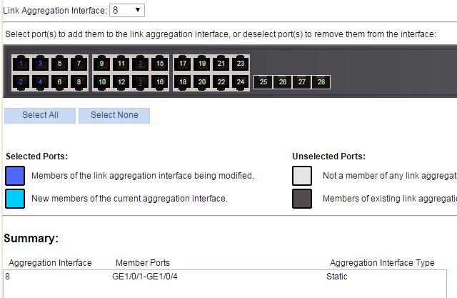 HP LAG Configuration