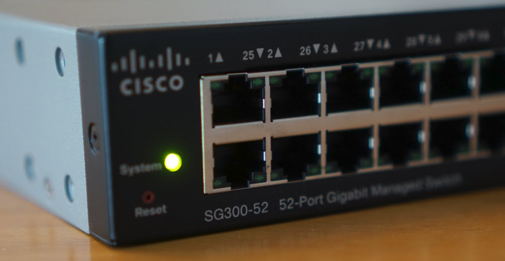 Hands On With a Cisco SG30052 Switch  Wahl Network