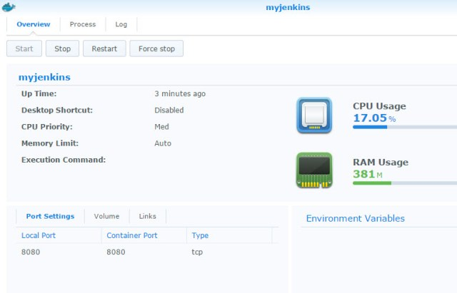 myjenkins-running-container