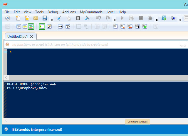 How to Configure a PowerShell ISE Theme and User Profile
