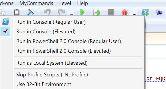 run-test-in-console