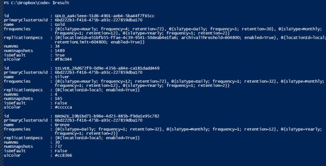 result-json-powershell