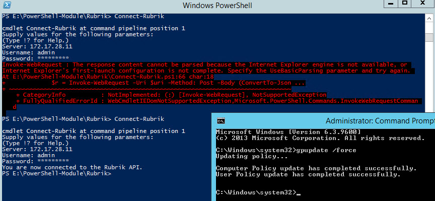 Solving the First-Launch Configuration Error with PowerShell's