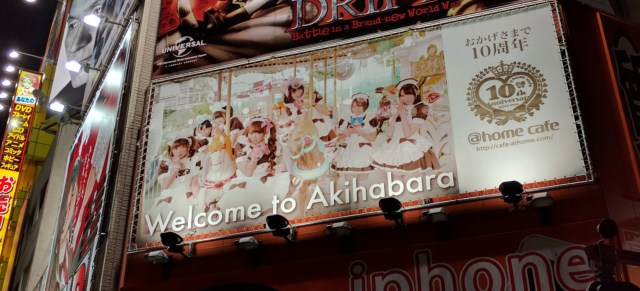 Akihabara in Tokyo is a really weird (but interesting) place to visit.