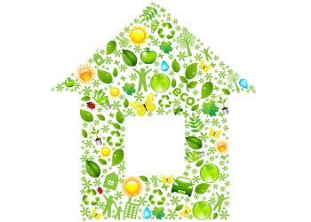 eco-friendly decorating