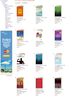 Discipline: 50 Keys to Success is at No 12 in Amazon Best Sellers List (2/2)