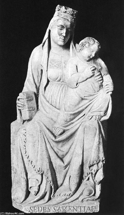 Madonna col Bambino 1321 di Tino Di Camaino 12801337 Italy  Riproduzioni Di Qualit Del