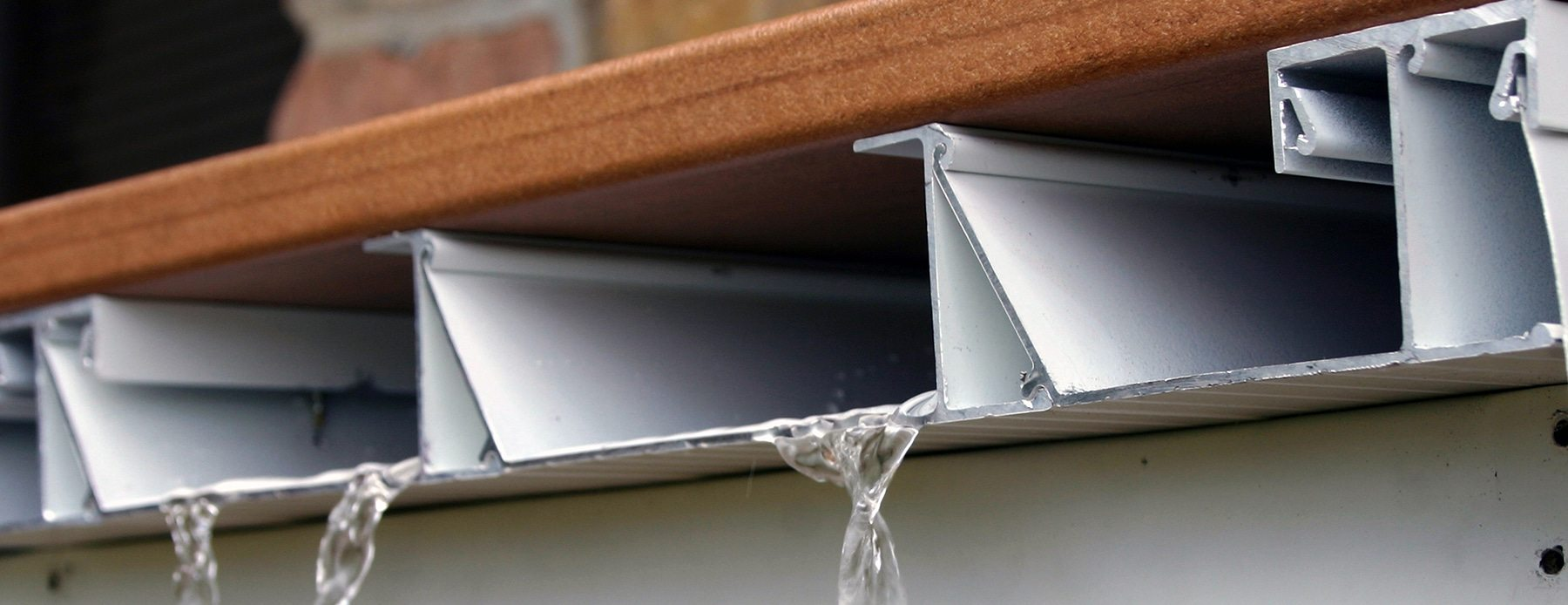 Deck Drainage  Waterproof Deck Materials  Wahoo Decks