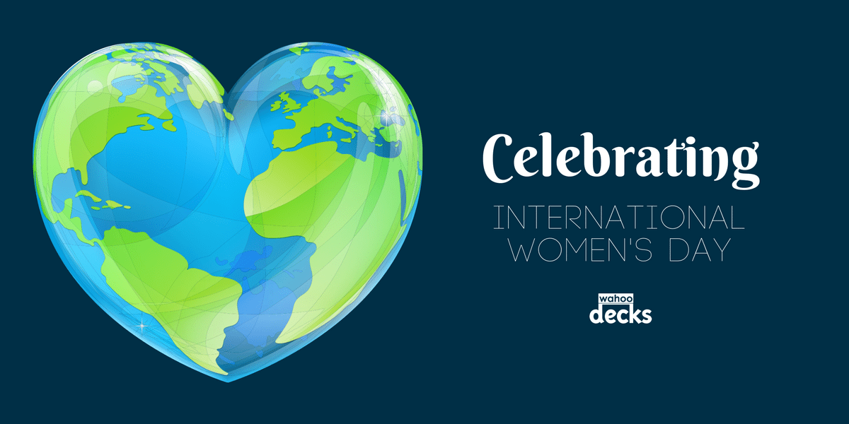 Wahoo Docks & Wahoo Decks International Women's Day