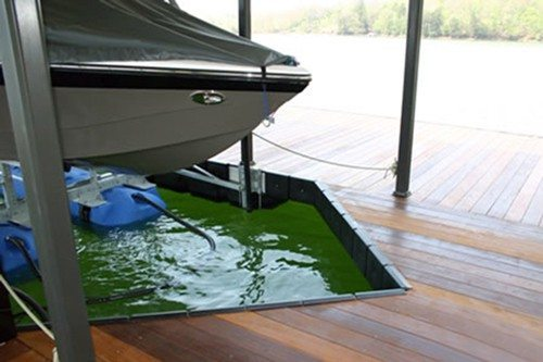 aluminum boat dock protection