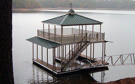 Wahoo Docks Upper Deck Home