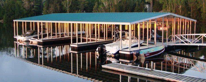 Mountain Trout House Canada Aluminum Dock