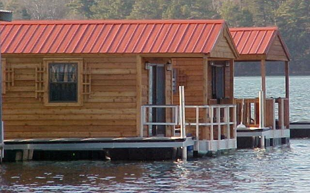 floating boathouse construction - commercial dock construction from Wahoo