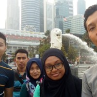 Mencari Merlion di Singapura