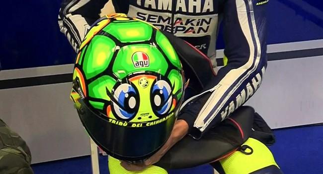 Moto GP Niih Helm Rossi di Mugello nanti malam  The