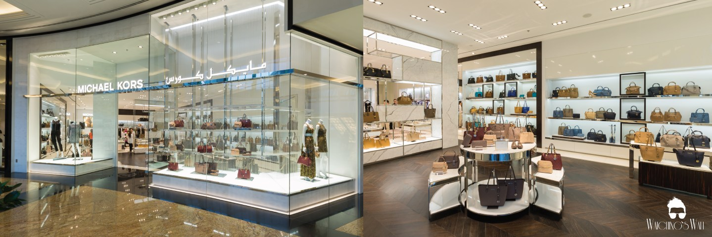BIGGER MICHAEL KORS STORE & MALL OF THE EMIRATES 10TH ANNIVERSARY