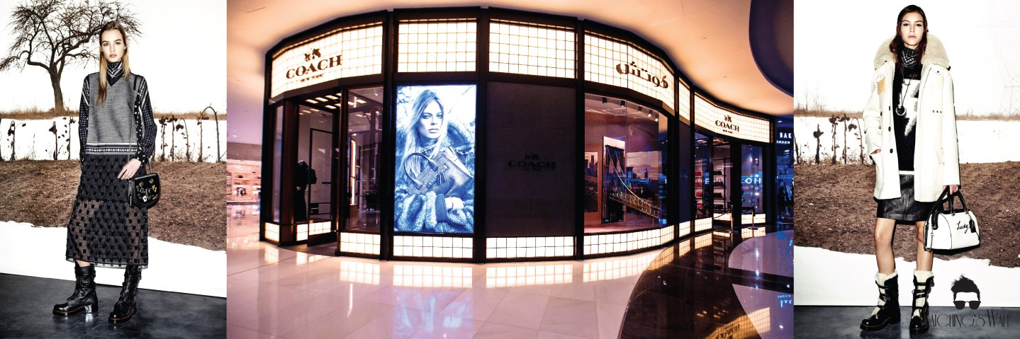 PRESS LAUNCH: THE NEXT GENERATION COACH STORE IN DUBAI MALL