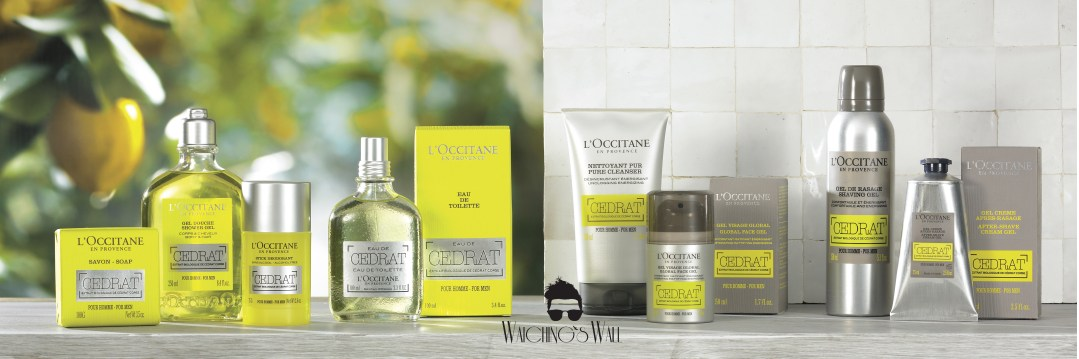 Man & Beauty Feature: L'Occitane's Cedrat Collection For The Urban Male