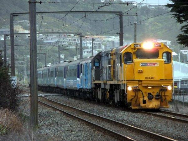 Capital Connection train.