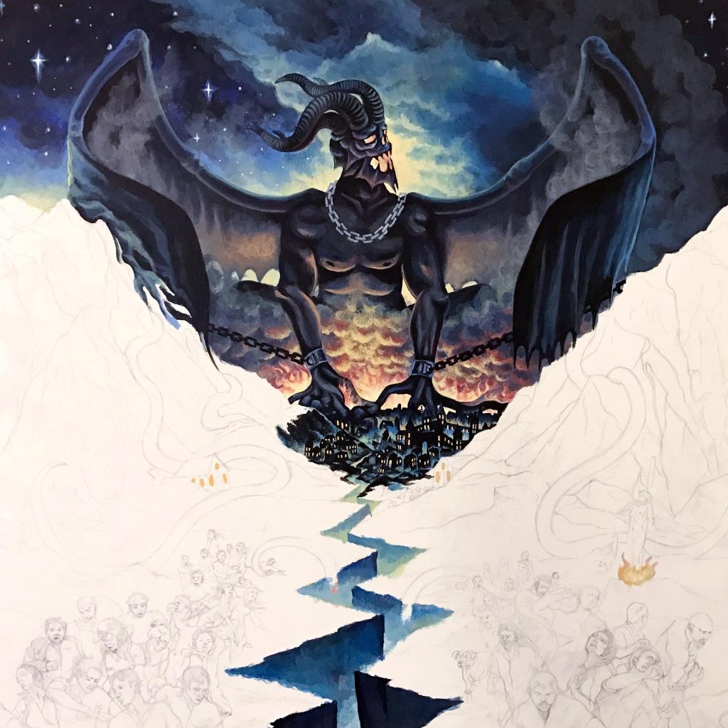 Wrath of Typhon - Kingdom of Fear Album Artwork in Progress
