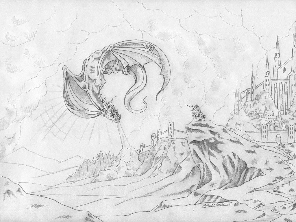 Prowler Sketch by Rebecca Magar - Wailing Wizard
