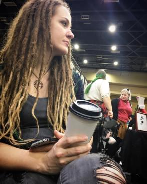 Yours Truly (Rebecca Magar) at the Punk Rock Flea Market