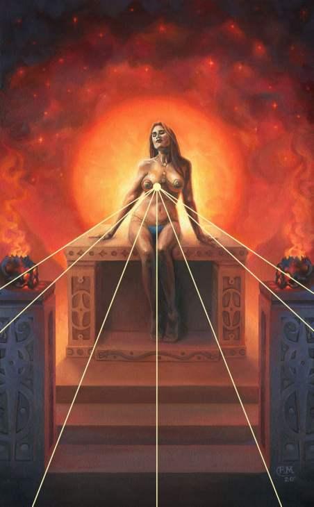 Focal Points in Art - Wailing Wizard Art