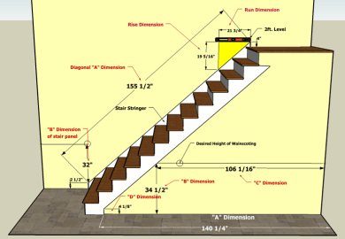 Staircase Designs With Dimensions