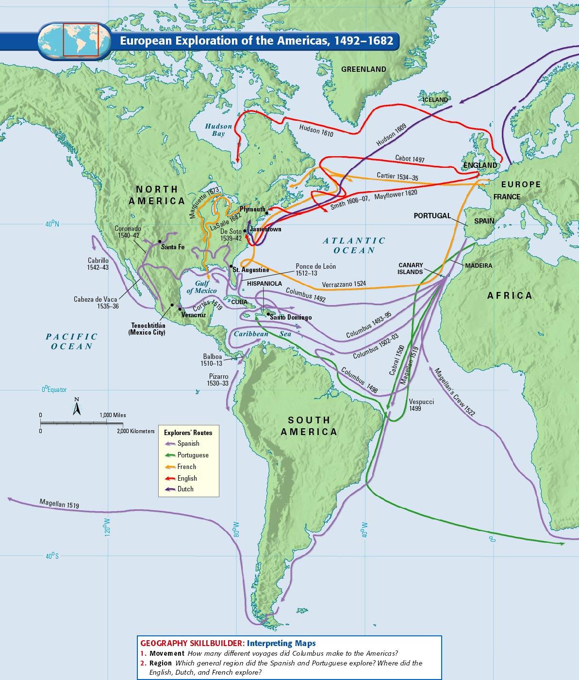 Unit One Exploration Amp Colonies