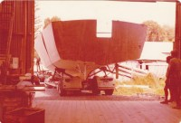 ARRIVES AT B JONES PREMISES MATAKANA MARCH 1979