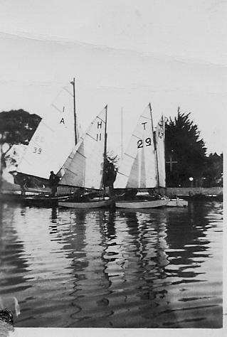 Easter regatta, Hamilton YC