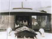 Easter 1935 on-route to Kawau