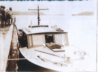 1936 Northern Cruise. Opua Wharf